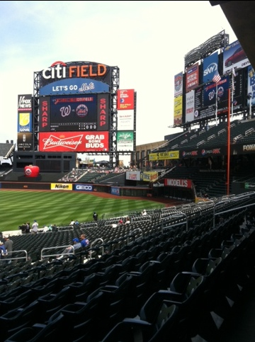 Dave Baker's Baseball Dream Tour: Stadium #10, Citi Field, New York