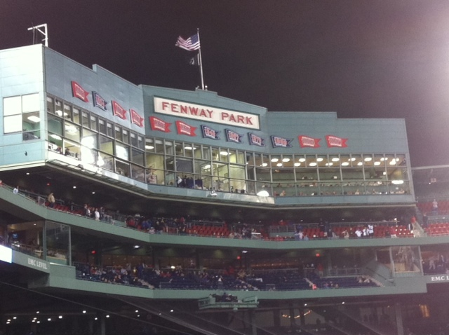Dave Baker's Baseball Dream Tour: Stadium #12, Fenway Park, Boston