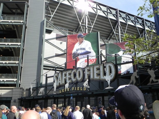 Dave Baker's Baseball Dream Tour: Stadium #18, Safeco Field, Seattle