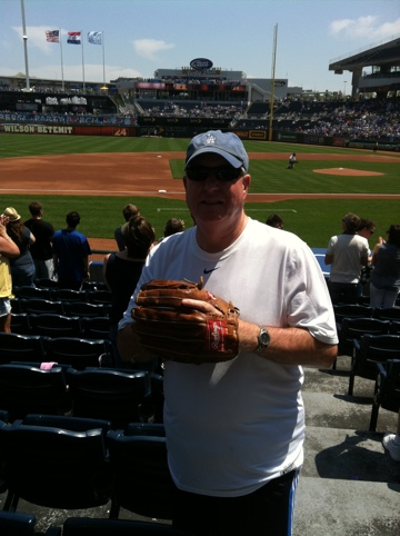 Dave Baker's Baseball Dream Tour: Stadium #2, Kaufman Stadium, Kansas City