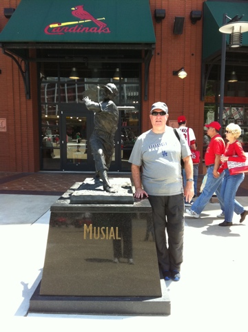 Dave Baker's Baseball Dream Tour: Stadium #1, Busch Stadium, St. Louis