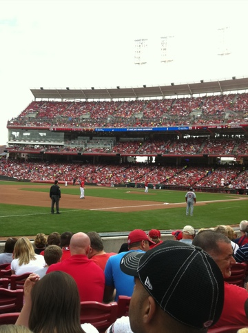 Dave Baker's Baseball Dream Tour: Stadium #6, Great American Ballpark, Cincinnati