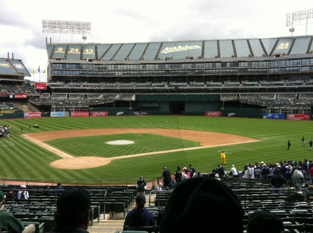 Dave Baker's Baseball Dream Tour: Stadium #19, Oakland-Alameda County Coliseum