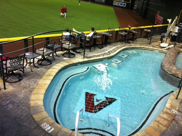 Dave Baker's Baseball Dream Tour: Stadium #21, Chase Field, Phoenix