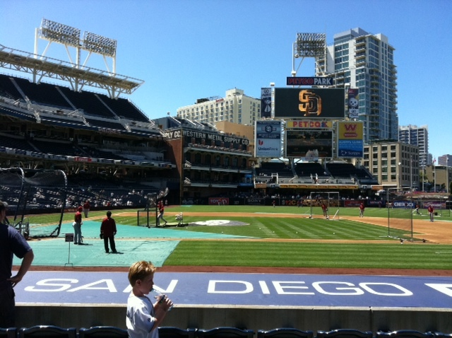 Dave Baker's Baseball Dream Tour: Stadium #22, Petco Park, San Diego