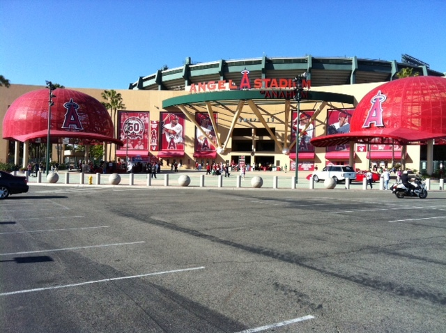 Dave Baker's Baseball Dream Tour: Stadium #23, Angel Stadium, Anaheim