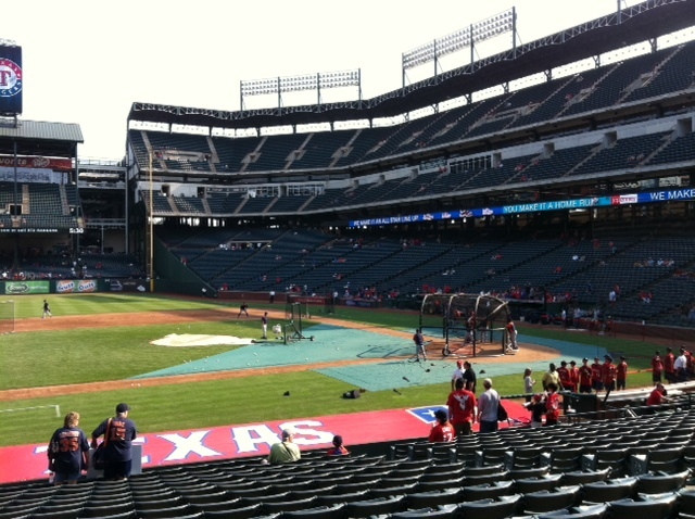 Dave Baker's Baseball Dream Tour: Stadium #24, Rangers Ballpark, Arlington