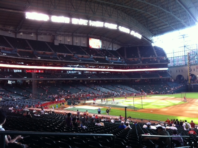 Dave Baker's Baseball Dream Tour: Stadium #25, Minute Maid Park, Houston