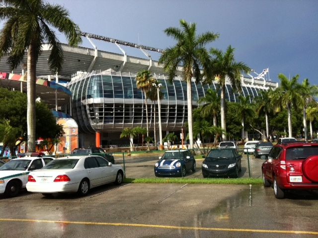 Baseball Dream Tour: Stadium #27, Sun Life Stadium, Miami Gardens, FL
