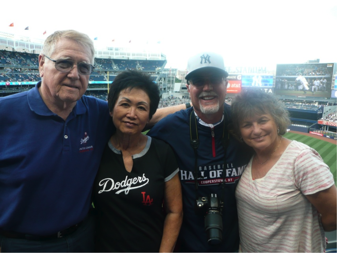 Mike and Geri with Robert and Nancy