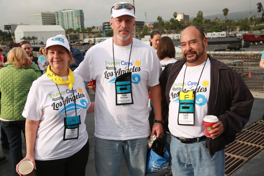 Tourism Cares volunteers two