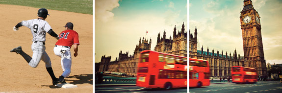 Baseball in London Experience: Boston vs. New York