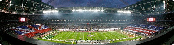 Pro Football in London 2013